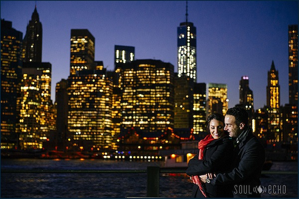 Couple_NY_City_Lights_Engagement_Addison_Wedding