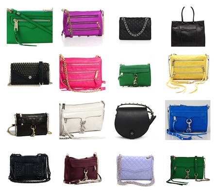 minkoff bag collage