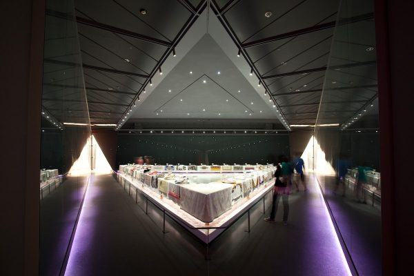 The Dinner Party by Judy Chicago-min